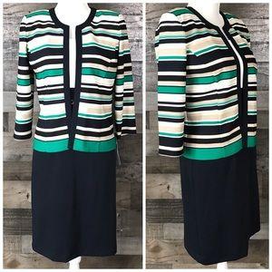 Studio One 2 pcs Set Dress / Jacket Sz 6